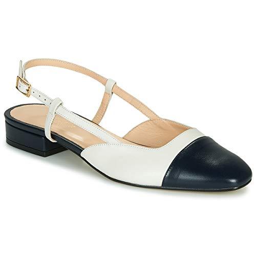 JONAK Dhapou Sandals Women Marine/White - 7.5 - Sandals Shoes
