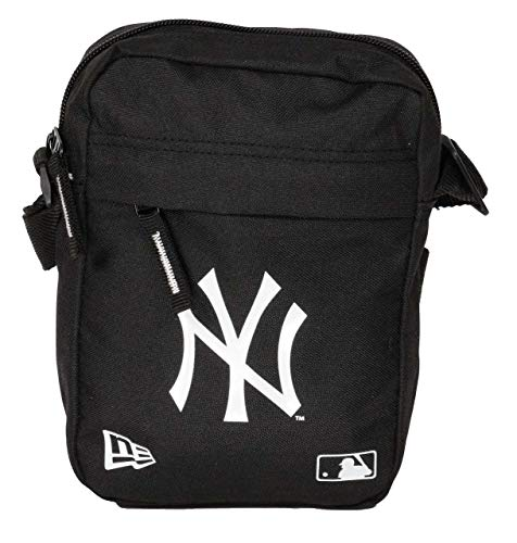 New Era New York Yankees Sidebag MLB Side Bag Black - One-Size