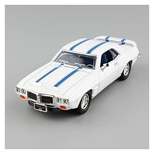 1:43 Escala para Pon-tiac para Firebird Trans Am 1969 Modelo De Coche De Aleación Modelo De Coche De Fundición A Presión De Metal Regalo para...