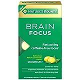 Nature's Bounty Brain Focus, Nootropic Brain...