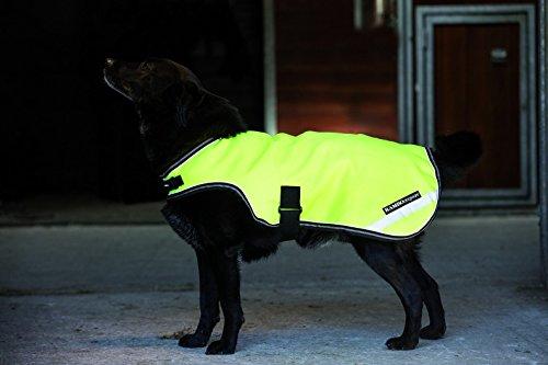 Rambo Reflektierende Hundedecke XX-small gelb