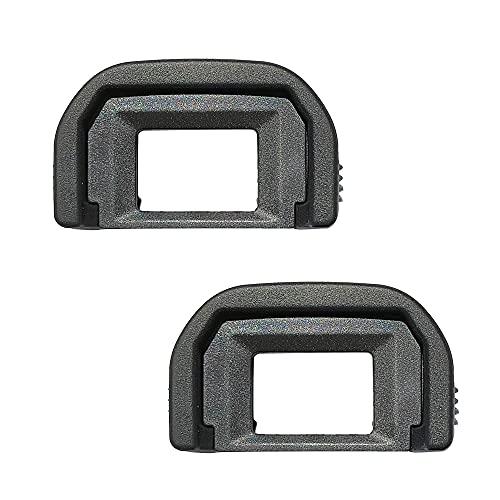 Visor ocular EF para Canon 1500D 1300D 1200D 77D 850D 800D 700D 600D 500D 200D Cámara, reemplaza Canon EF (paquete de 2)