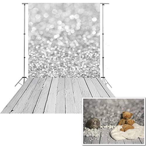 150x300cm Waschbarer Baumwolle Polyester grau Bokeh Studio Foto Hintergrund Hintergrund D-9732(DE NIVIUS PHOTO)