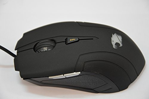 iBuyPower GMS5001 Gaming Mouse,Black