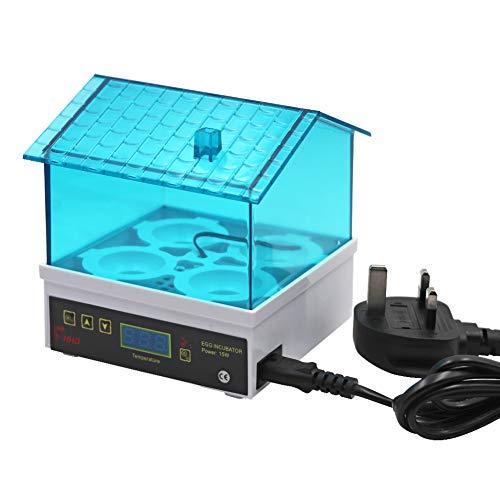 M.Z.A 4 Mini-Brutkästen für kleine Geflügel, Temperaturkontrolle, Schlüpfmaschine, digital, automatisch, für Hühner, Vögel, Wachteln