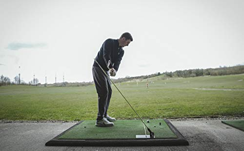 Golf Training Aid Golf Swing Trainer Aid Swing Plate Golf Practice Alignment Stick Base Plate -...