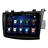 2021 Upgraded-Android 10 Car Stereo Double Din Car Radio, Android Head Unit, Eonon Car GPS Navigation for Mazda 3 (2010-2013), Car Radio Support Android Auto Built-in Apple Carplay/DSP-9 Inch-GA9463B