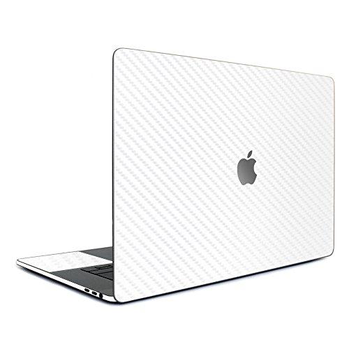 wraplus for MacBook Pro 16 インチ 2020 2019 対応 全31色 [ホワイトカーボン] スキンシール フィルム ケース カバー