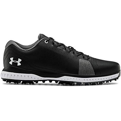 Under Armour Men's Fade RST 3 Golf Shoe, Black (001)/Black, 11
