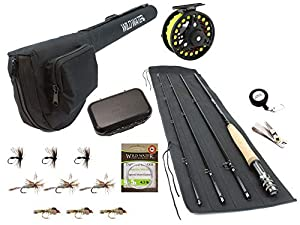 Wild Water Fly Fishing 9 Foot, 4-Piece