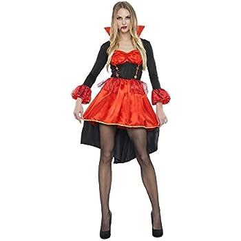 Disfraz de Vampiresa cola de pato para mujer: Amazon.es: Juguetes ...
