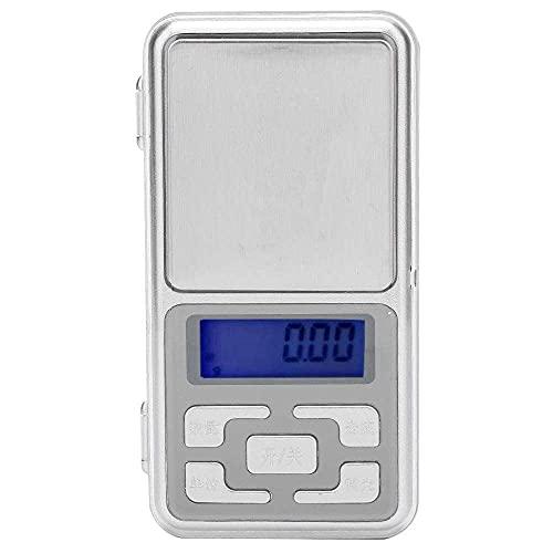 zhaita Escala de bolsillo, mini portátil de precisión electrónica 0.01g de bolsillo para lápiz labial DIY material joyería píldoras hierbas