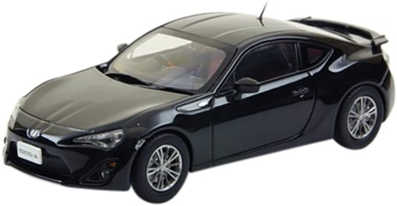 EBBRO  TOYOTA 86 (Black) (Diecast model)