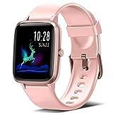 Blackview Smartwatch Mujer, Reloj Inteligente con Pulsómetro Hombre Niños, Monitor de Sueño, 45 Días Batería Ultra Larga Duracion, Reloj de Fitness para iOS y Android Xiaomi Huawei Samsung iPhone