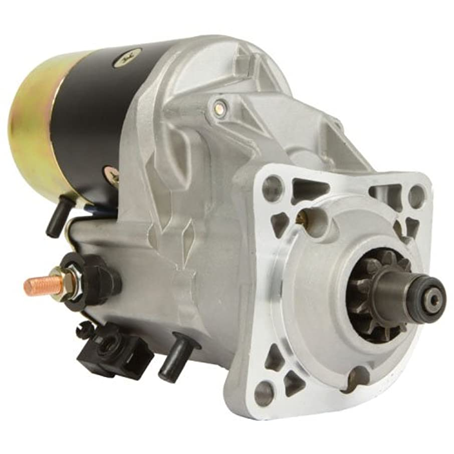 DB Electrical SND0727 New Starter for Caterpillar 216 236 246 Skid Steer & 906 Loader 0R9702, 144-9955 ND228000-7500 410-52226 18992