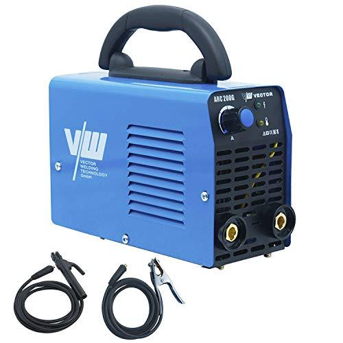 VECTOR ARC 200G - Aparato de soldadura de electrodos IGBT ARC MMA STICK, electrodo eléctrico de mano invertida