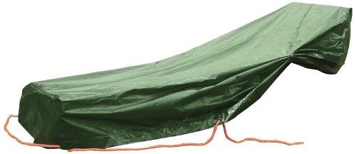 Rainexo weerbestendige beschermhoes hoge scheurvast voor 1 ligstoel, 1.85 x 1.15 x 0.68 m, groen, UV-bestendig 5 jaar