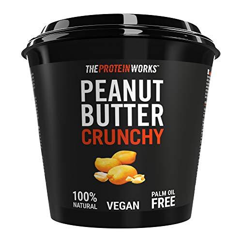 The Protein Works Mantequilla de Cacahuete, Super Crujiente – 1 kg