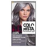 L'Oreal Colorista Smokey Grey Permanent Hair Dye Gel Long-Lasting Permanent Hair Colour