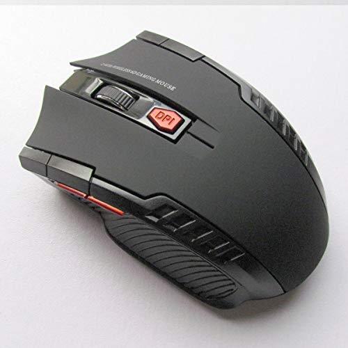 Computer Muizen Comfortabel Personaliseren Hoge Prestaties Gaming Draadloze Muis voor PC Laptop (Kleur : Grijs)