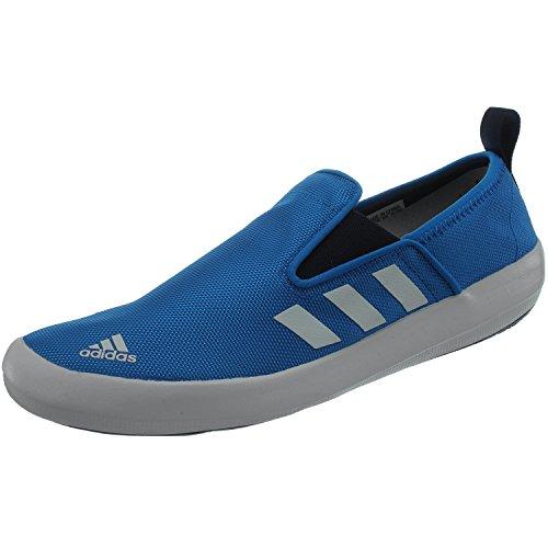 adidas Boat Slip-On Deluxe AQ5203 Unisex - Erwachsene Wassersportschuhe/Bootsschuhe/Segelschuhe Blau 42 2/3