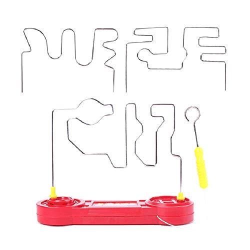 JAWSEU Don't Buzz The Wire Game,Kit de Ciencia de Circuito Eléctrico,Juego de...