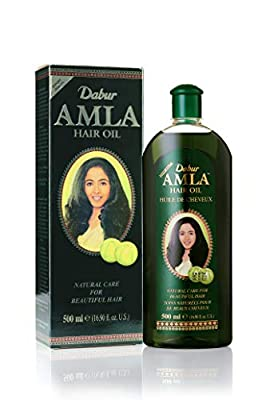Dabur Amla Hair oil - Natural care for beautiful hair, 500ml
