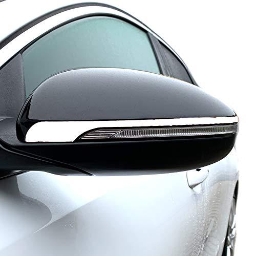 Oracal 751C Lot de 2 bandes latérales pour miroir de voiture Blanc