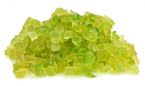 Hand Cubed Sicilian Candied Citron (Cedro) 12 Ounce Container Fresh Never Pre Packaged