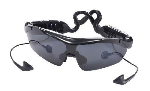 PRECORN Smart Gafas de sol deporte Alta Calidad Stereo Bluetooth auriculares tecnologia Touch negro