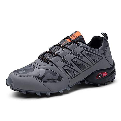 Zapatillas de Senderismo Hombre Trekking Zapatillas Antideslizante Aire Libre Calzado Deportivo Zapatillas...