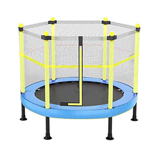 AMXHH Kids Trampoline, 40 Inch Foldable Rebounder Trampoline With Safety Net Enclosure, Help Children Grow And Play, for Adults Kids Indoor/Outdoor Home Gym Equipment
