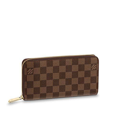 Louis Vuitton Zippy Wallet Damier Ebene Canvas (Brown)