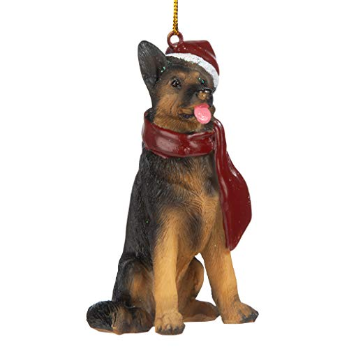 German Shepherd Holiday Tree Ornament