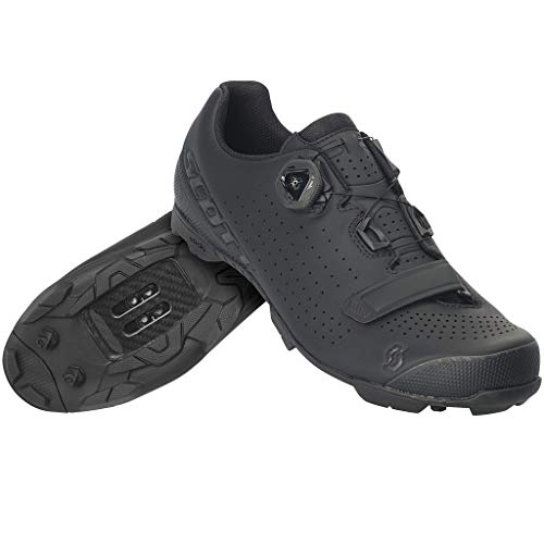 Scott MTB Vertec BOA Shoe (Matt Black/Gloss Black, 44.0 EU) - Adults' 2020