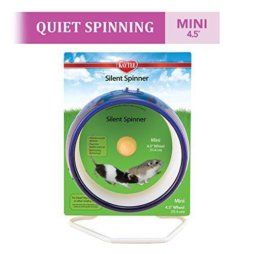 Kaytee Silent Spinner Wheel Mini 4.5 Inches