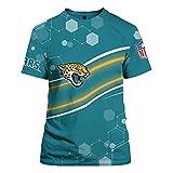 2021 Washington Football Team Jacksonville Jaguars Los Angeles Rams Cincinnati Bengals T-Shirt, Chemise De Rugby, Cadeau Pour Les Fans De Rugby, Lavable En Machine Et Ne Se Décolore Pas,Vert,XL