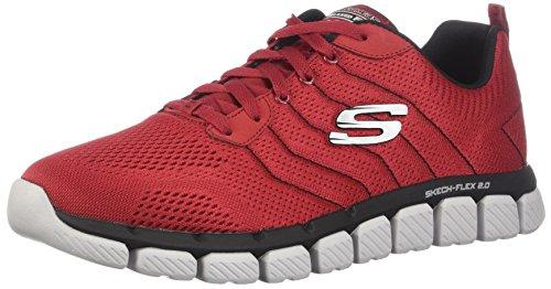Skechers Herren Go Walk Joy-52619 Sneaker, Rot (Red/Black), 47.5 EU