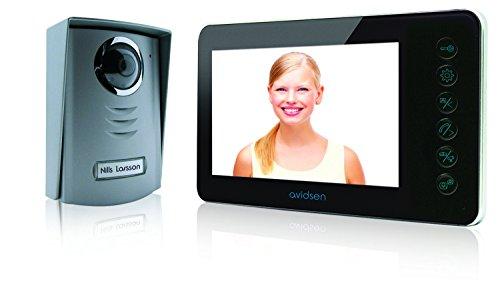 Avidsen 112241 Videoportero - Sistema de intercomunicación de video, 11.5W, 13.5V, Negro, Gris, 800 x 480 Pixeles
