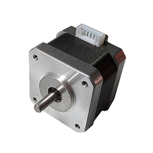 Harwls NEMA 17 Stepper Motor 12 V CNC Reprap 3D Printer Extruder 36 oz in 26 Ncm 0,4 A