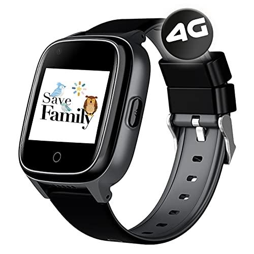 SaveFamily Senior. Reloj-Localizador con GPS para Personas Mayores. Llamadas,...