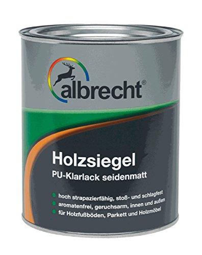 Albrecht Holzsiegel Seidenmatt Klarlack Farblos Holz Parket Lack 750ml