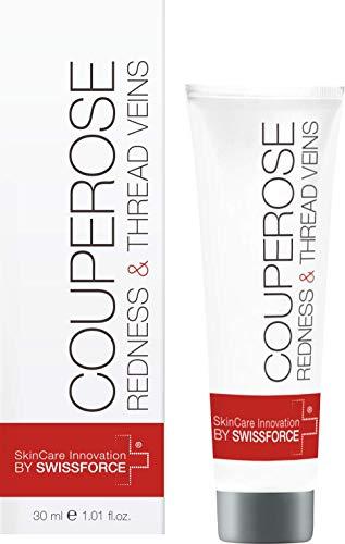 Swissforce COUPEROSE BALM DAILY 30 ML - Ihre Schweizer tägliche Feuchtigkeitspflege zur Vermeidung von Rötungen der Haut & Fadenadern