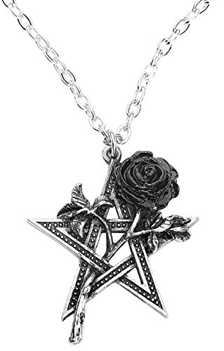 Alchemy Gothic Ruah Vered Women Necklace Standard, Pewter, Regular
