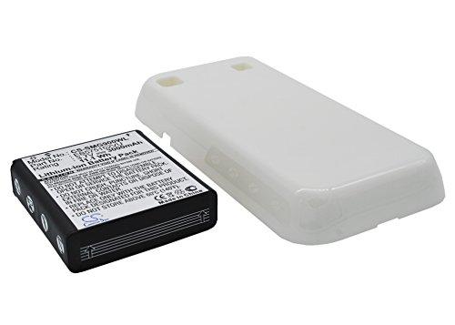 BudgetLine - Batteria maggiorata Cameron Sino 3000 mAh per Samsung Galaxy S GT-i9000, con cover posteriore