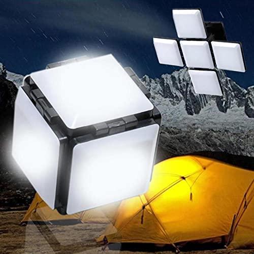 Luz de camping portátil LED Iluminación al aire libre USB Trabajo Camping Linterna plegable Lámparas Camping Emergencia Camping Barbacoa Luz