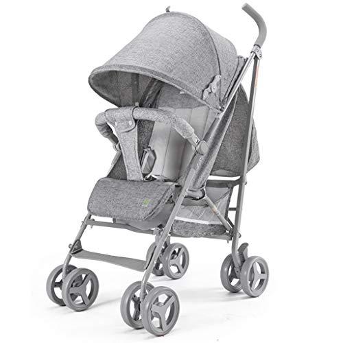 LWJJHJ Compact Fold Kinderwagen, Veiligheid 1e Compacte wandelwagen Paraplu Kinderwagen - Uitschuifbare luifel