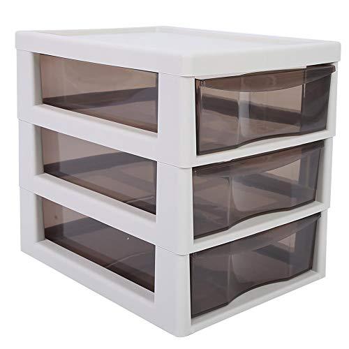 Caja de almacenamiento de maquillaje Gabinete de almacenamiento conveniente del clavo para la organización de la herramienta del maquillaje para el uso del salón del clavo para el uso