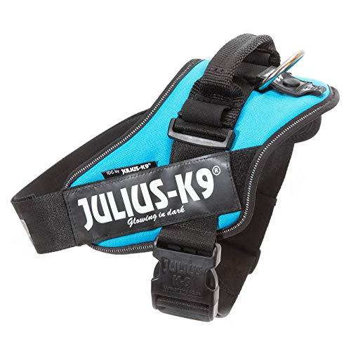 Julius-K9, 16IDC-AM-2, IDC Powerharness, dog harness, Size: 2, Aquamarine
