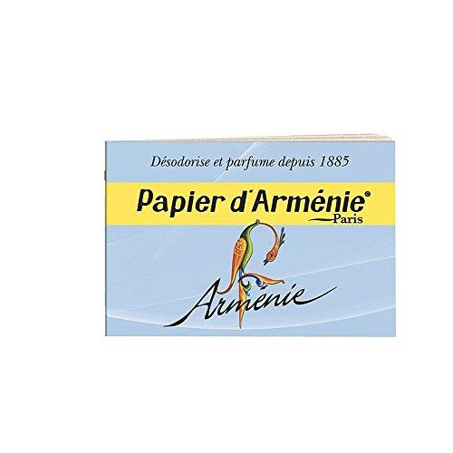 PAPIER D'ARMENIE Carnet de 12 feuilles de 3 lamelles